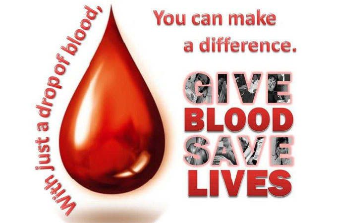 BIG NEED FOR BLOOD DONORS RIGHT NOW