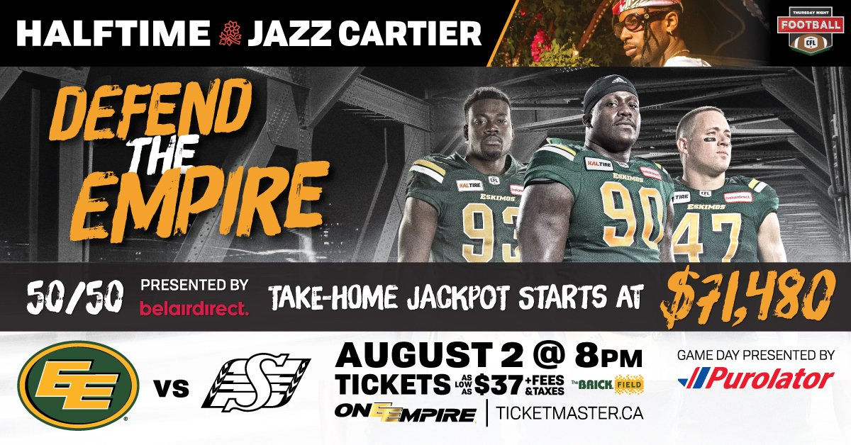 BIG 50-50 NIGHT AT THE ESKIMOS GAME