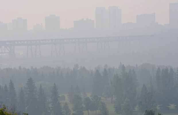 GOING TO BE A SMOKY WEDNESDAY IN ALBERTA