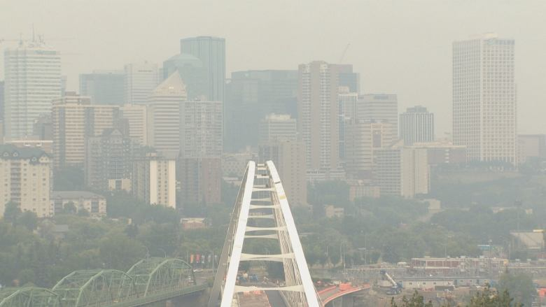AIR QUALITY ADVISORY ISSUED FOR EDMONTON AND MOST OF THE PROVINCE--AGAIN