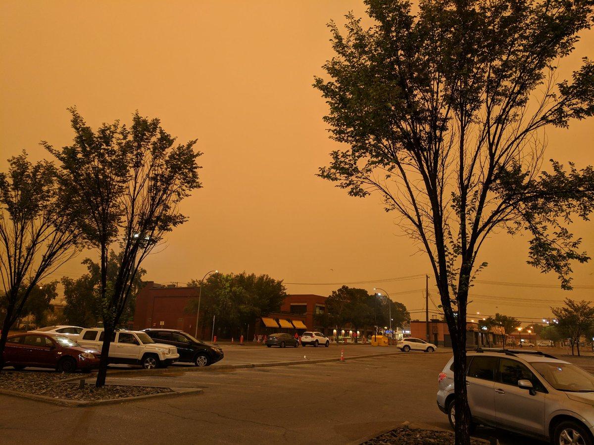 ORANGE SKY IN MORNING--EVERYONE TAKE WARNING