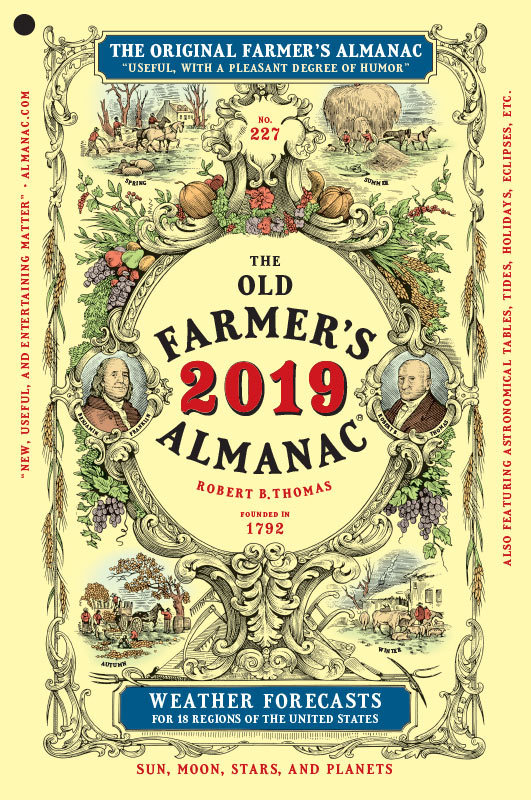 OLD FARMER'S ALMANAC CALLING FOR COLDER WINTER WITH MORE SNOW