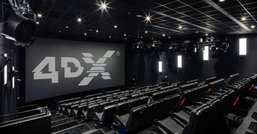 COMING SOON TO A MOVIE THEATRE NEAR YOU---4-DX TECHNOLOGY