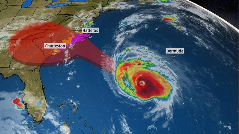 HURRICANE FLORENCE STILL ON THE WAY