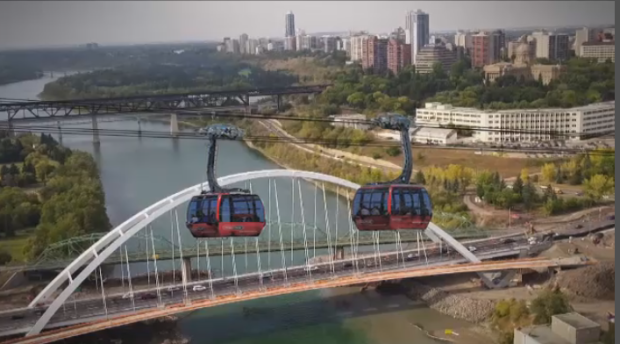 GROUP OF COMPANIES STILL WORKING TO GET THE DREAM OF THE EDMONTON GONDOLA-- OFF THE GROUND