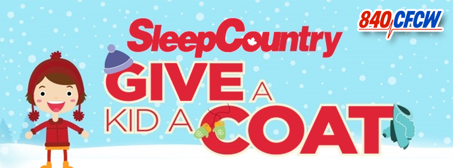 Sleep Country Give A Kid A Coat Campaign