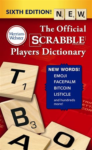 NEW SCRABBLE DICTIONARY IS OUT