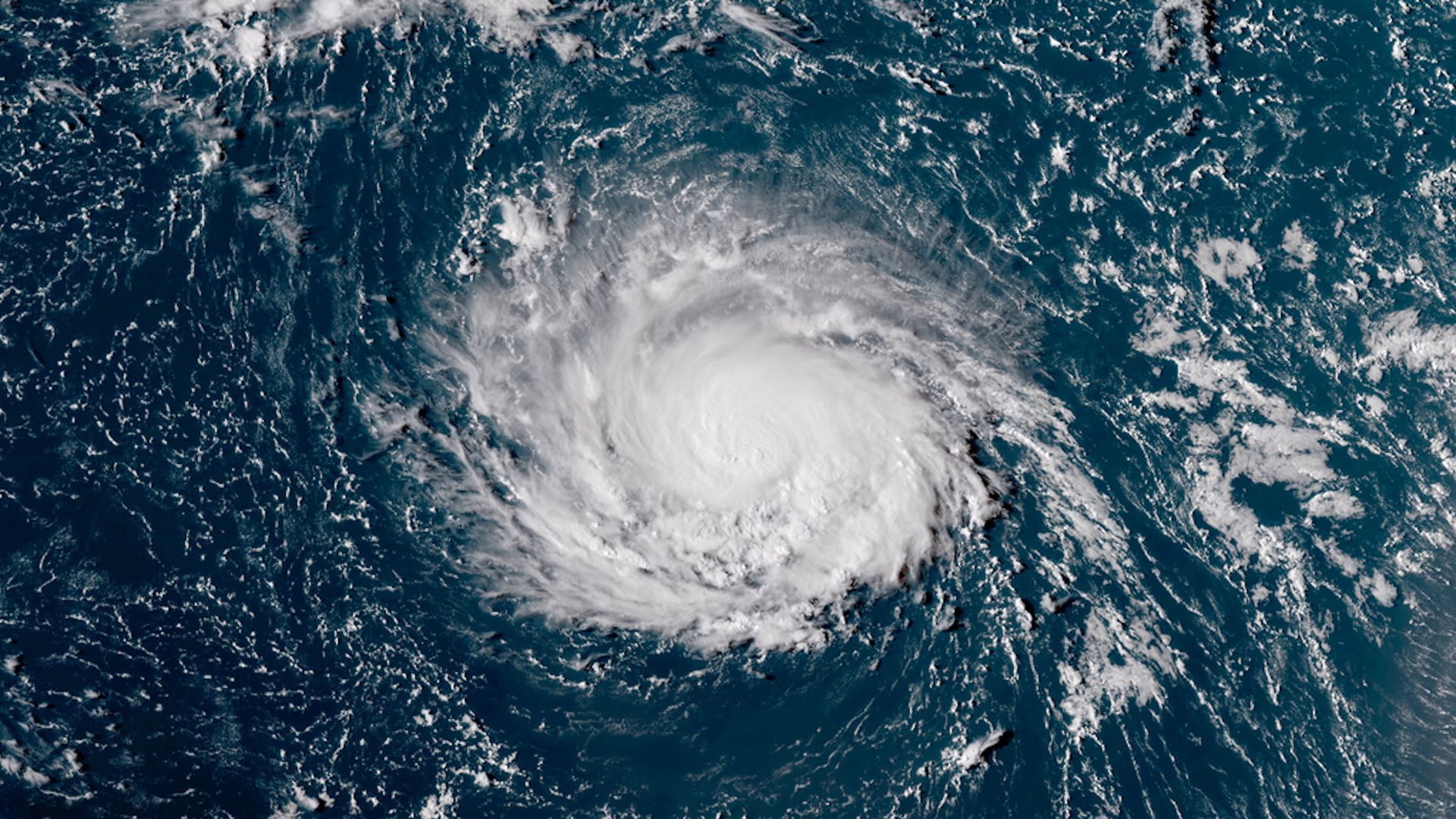 HURRICANE FLORENCE CHURNING TOWARDS THE U-S