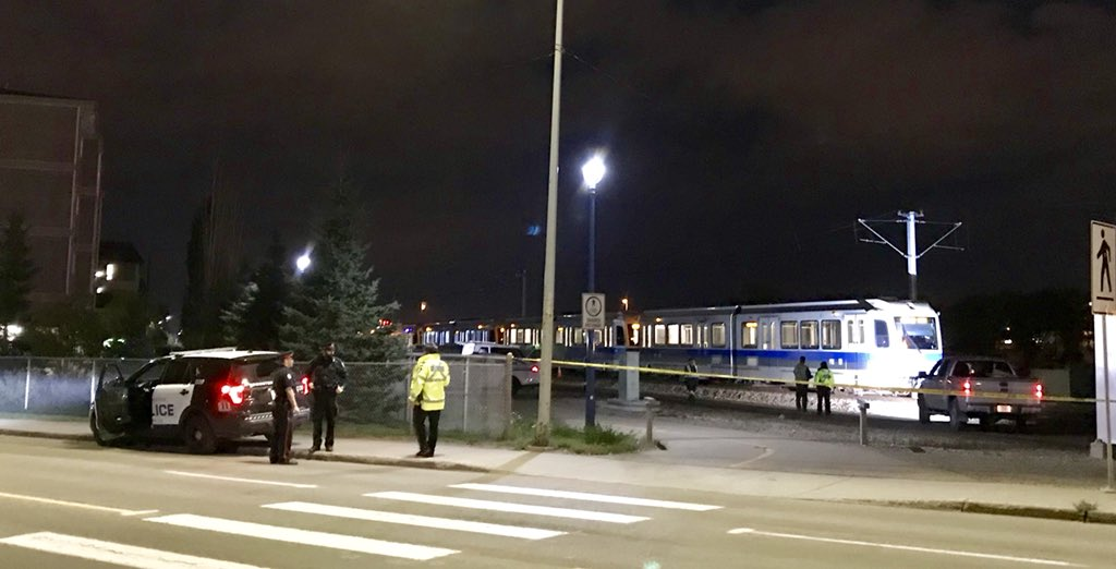 MAN HIT AND KILLED BY LRT LAST NIGHT