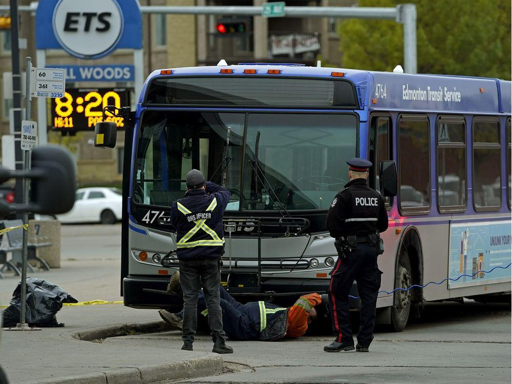 EDMONTON TRANSIT FOCUSED ON IMPROVING SAFETY--AFTER BUS DRIVER IS STABBED