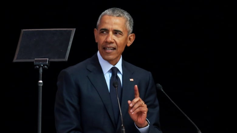 FORMER PRESIDENT BARACK OBAMA DELIVERS ROUSING SPEECH TO SPUR DEMS INTO VOTING