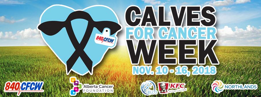 Calves for Cancer Week
