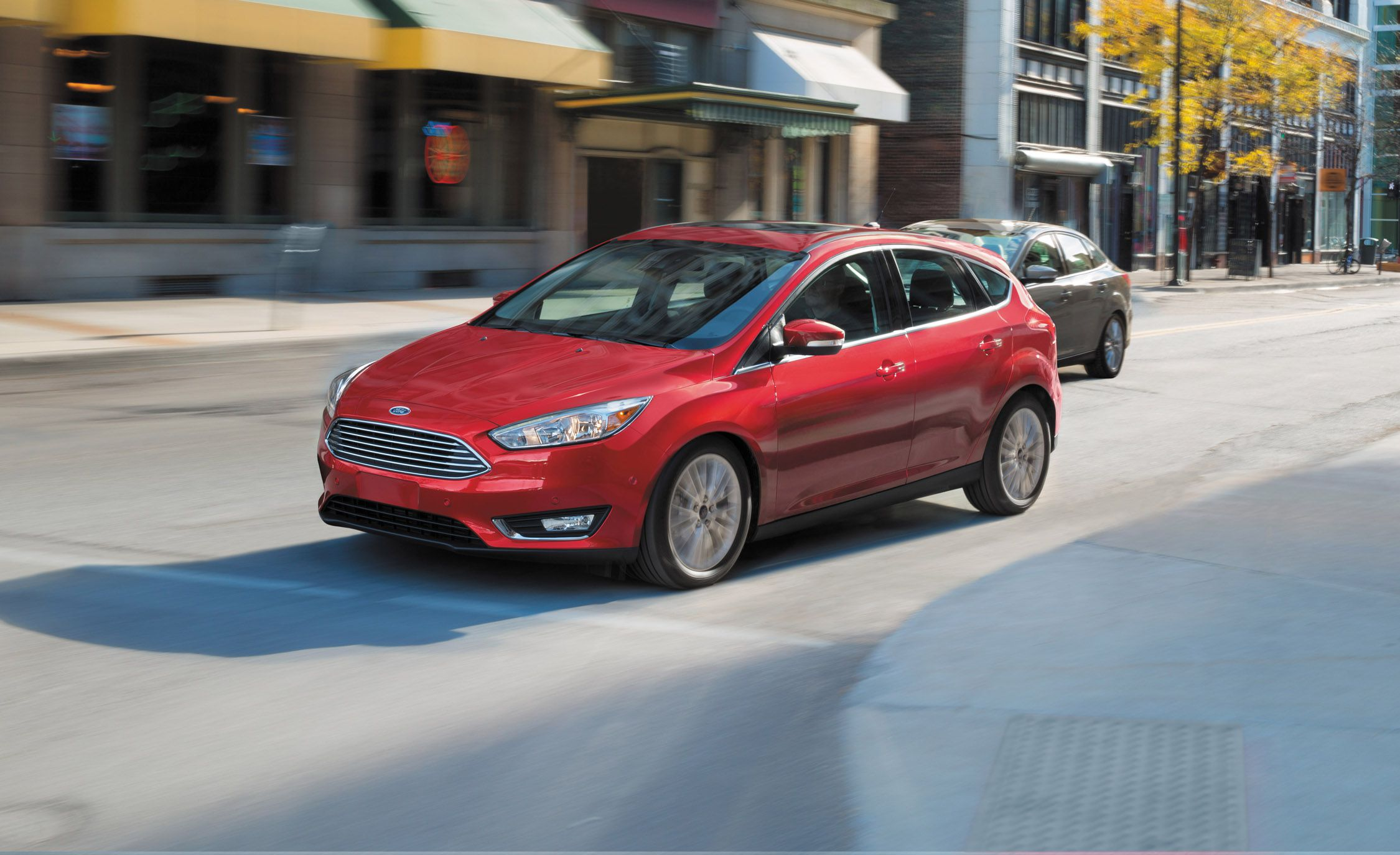FORD RECALLING SOME OF ITS FORD FOCUS CARS
