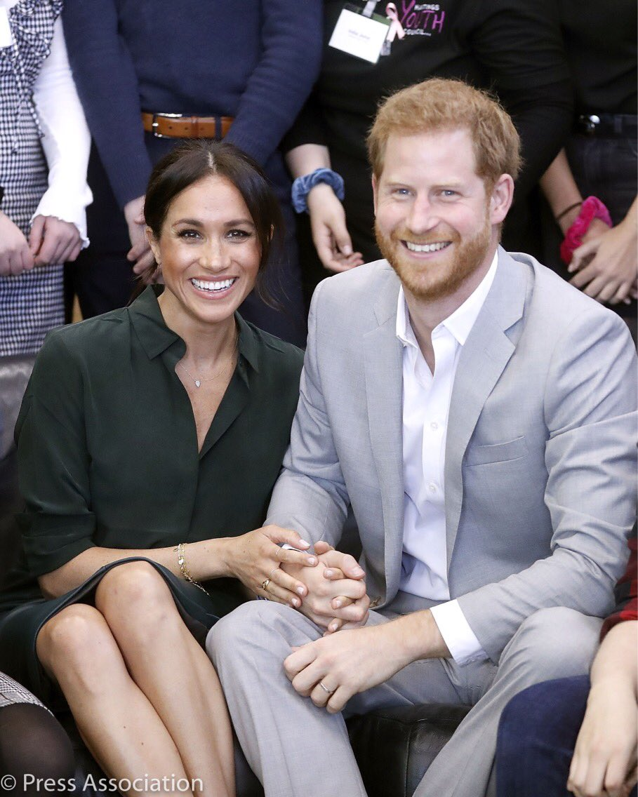 HARRY AND MEGHAN ARE GOING TO BE PARENTS
