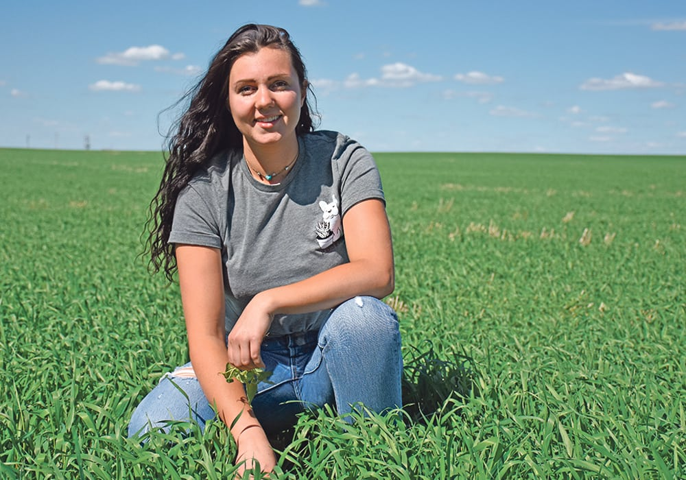 YOUNG ALBERTA FARMER HELPING THE CANADIAN FOODGRAINS BANK