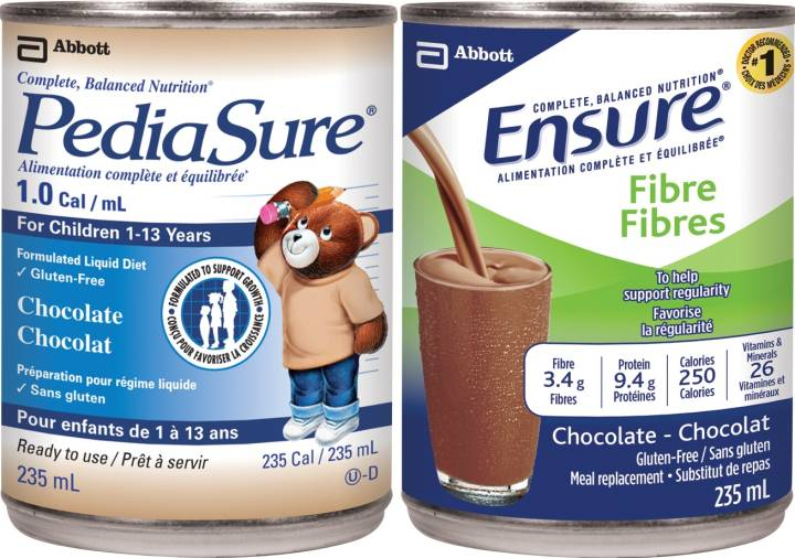 NUTRITIONAL DRINKS RECALLED BECAUSE OF POSSIBLE BACTERIAL CONTAMINATION