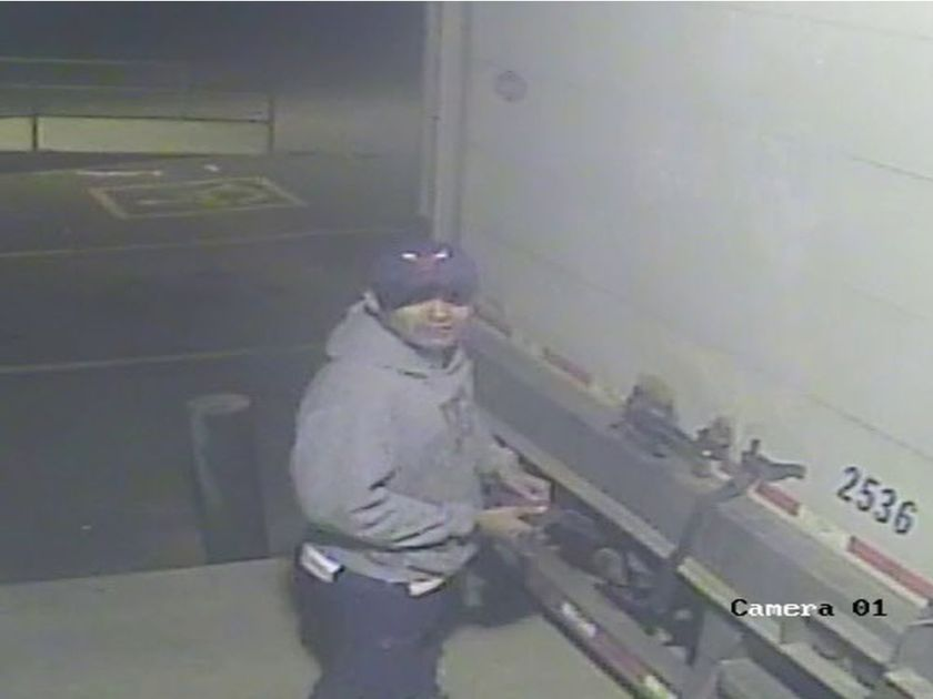 RCMP LOOKING FOR SUSPECT IN PRODUCE THEFT