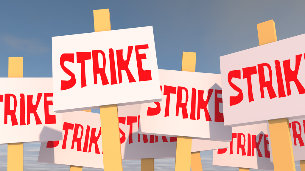 CUP-W FILES STRIKE NOTICE