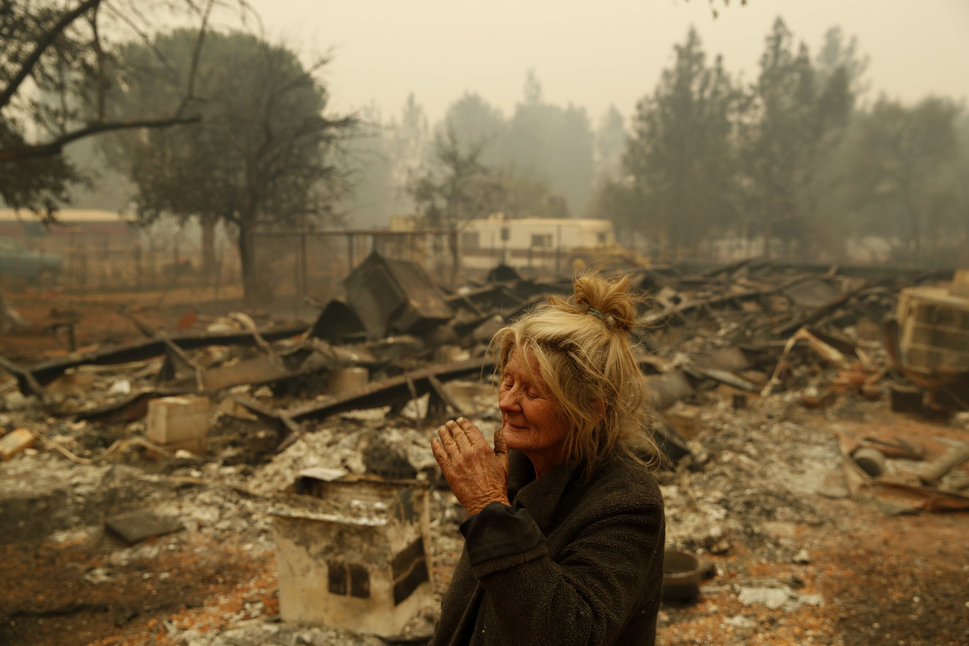 DEATH TOLL RISES BECAUSE OF CALIFORNIA WILDFIRES