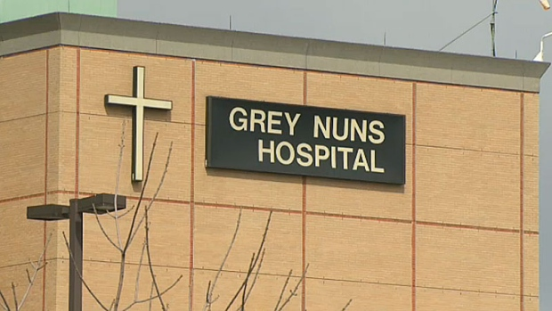 MAN WITH FAKE HANDGUN CAUSES DISTURBANCE AT THE GREY NUNS ER---WITHOUT REALIZING IT