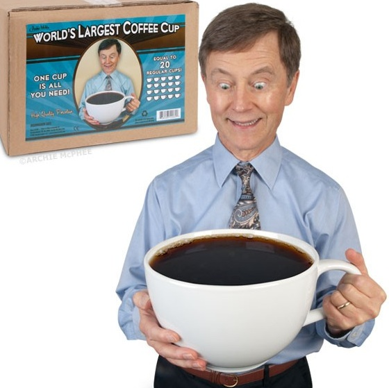IT'S TRUE--YOUR COFFEE MAKES YOU A MORE PLEASANT PERSON