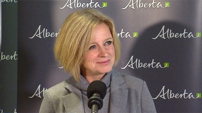 PREMIER SETTING UP AN ENERGY UPGRADING UNIT IN HER OFFICE TO GIVE ALBERTA MORE CONTROL OF ITS OIL AND GAS
