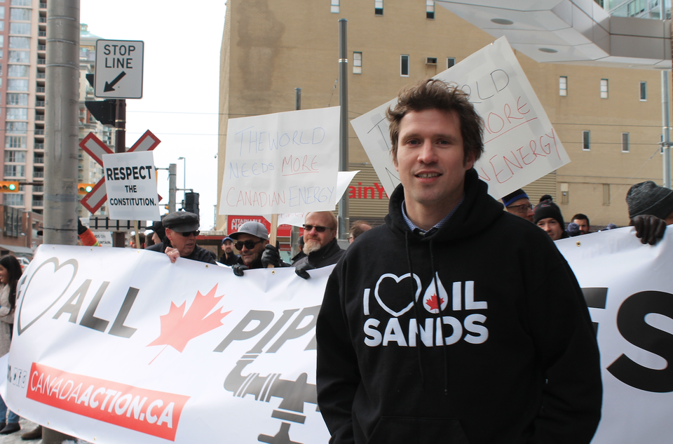 HUGE RALLY IN CALGARY YESTERDAY AS THE PRIME MINISTER SHOWS UP FOR SOME MEETINGS
