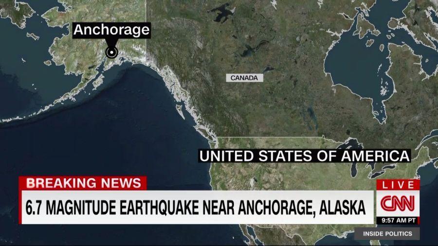 BIG EARTHQUAKE IN ALASKA