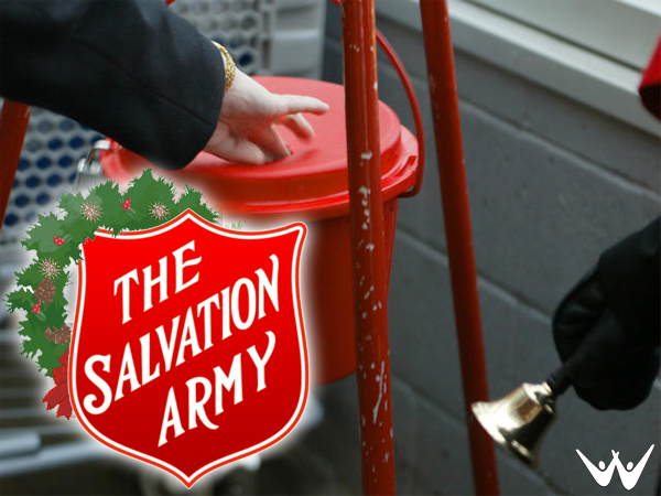 SALVATION ARMY GOING HIGH TECH THIS CHRISTMAS
