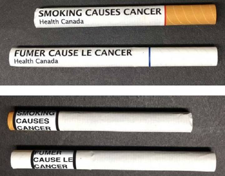 WOULD WARNINGS ON EACH SMOKE STOP YOU FROM LIGHTING UP?