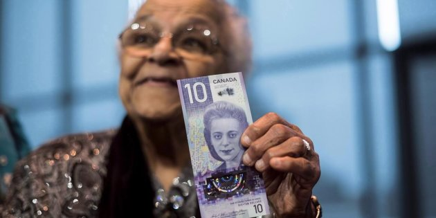 CANADA'S NEWEST 10-DOLLAR BILLS WILL BE IN CIRCULATION NEXT WEEK