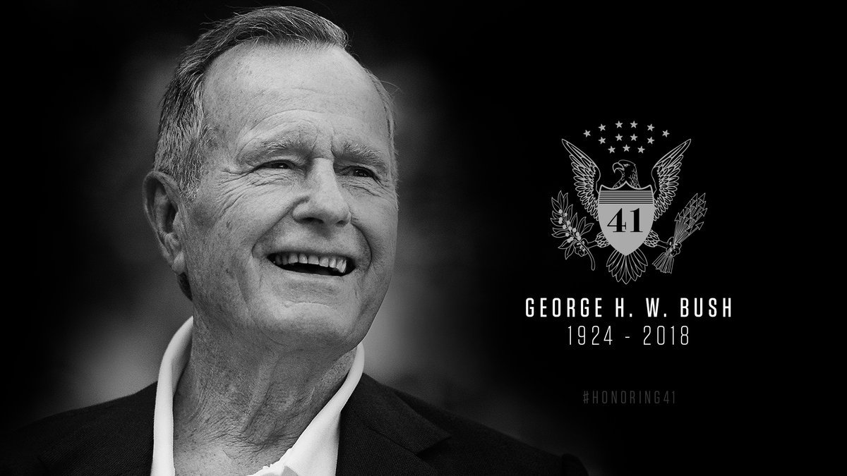 FORMER PRESIDENT GEORGE BUSH REMEMBERED WITH LAUGHTER AND TEARS