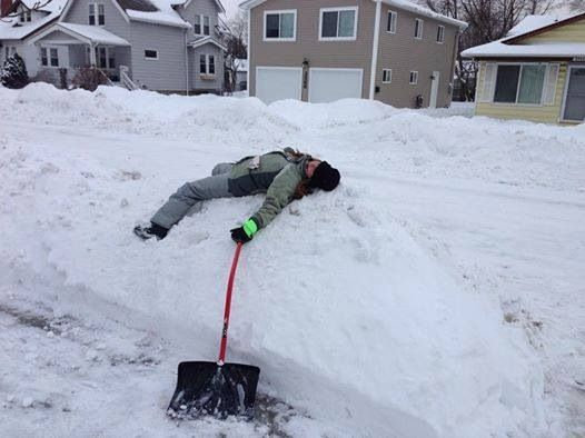 ARE YOU TIRED OF SHOVELING YET?