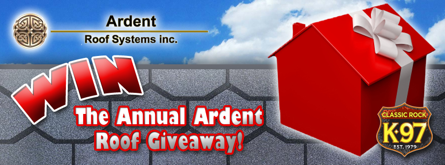 Feature: https://www.k97.ca/ardent-roof-systems-annual-roof-giveaway/