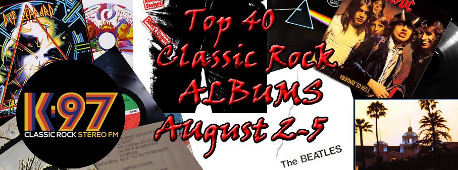 Top 40 Classic Rock Albums | K-97 Classic Rock