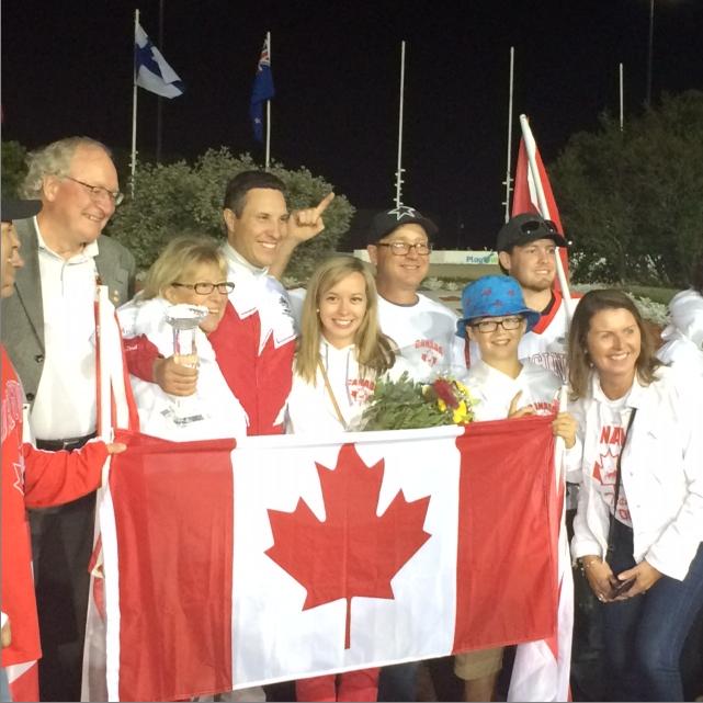 PEI's James MacDonald wins World Driving Championship at home