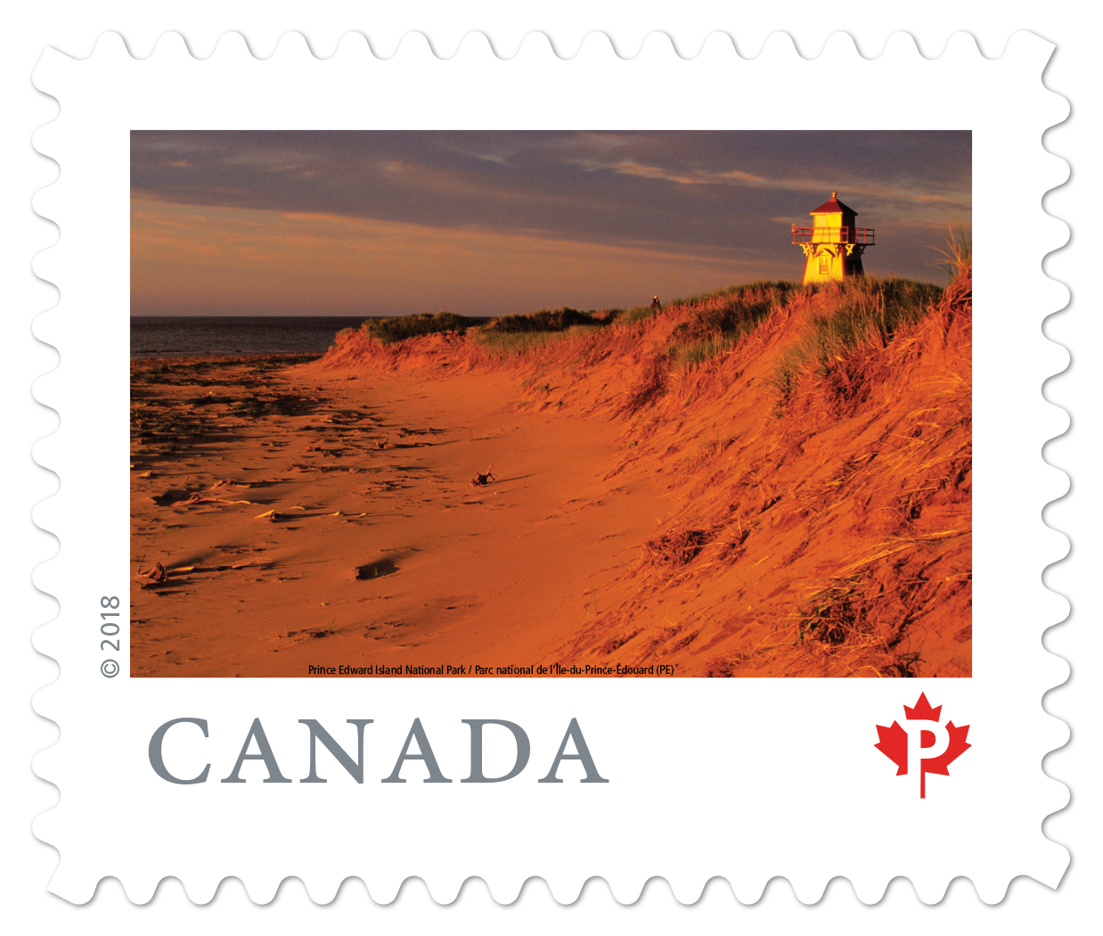 Covehead Harbour featured on new stamp