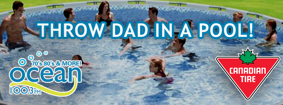 Throw Dad In A Pool
