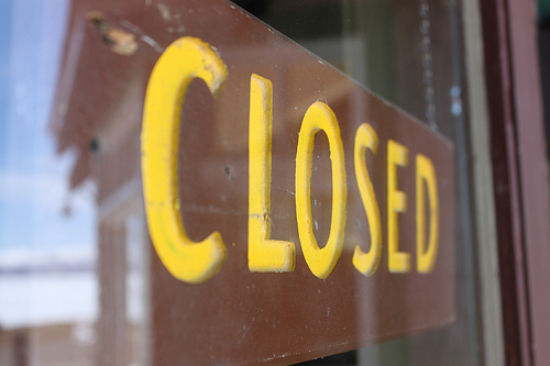 Some Closures Today: Civic Holiday in Most of Canada