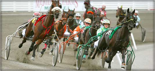 Thunderstorms Shut Down Tonight's Harness Racing