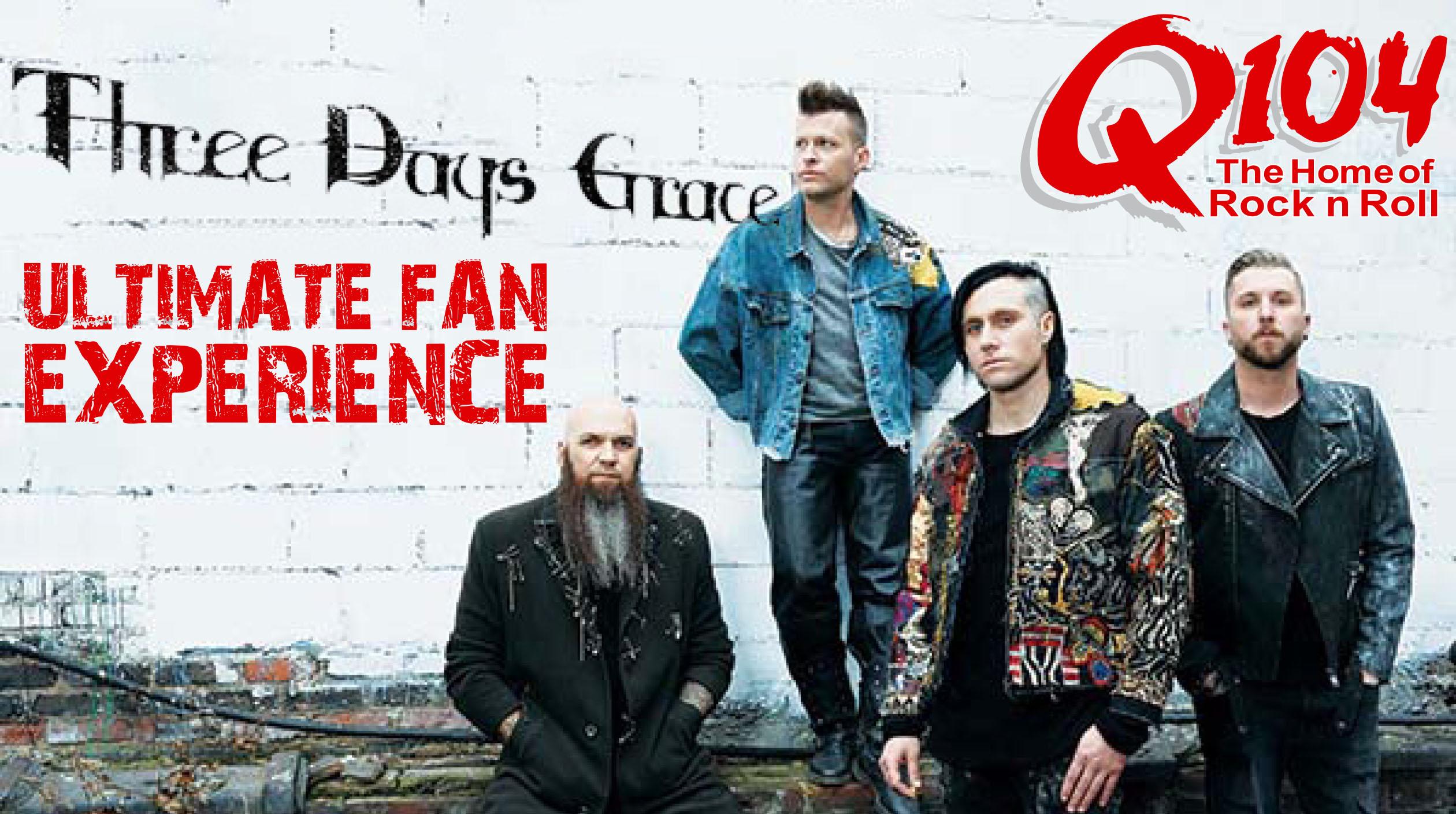 Q104's Three Days Grace  VIP Fan Experience