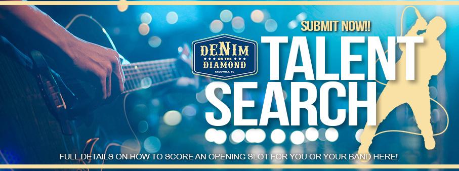 Denim On The Diamond Talent Search