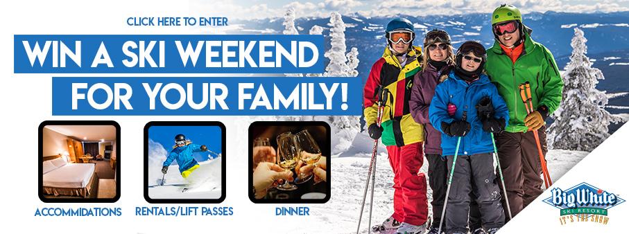 Family Ski Getaway to Big White Ski Resort