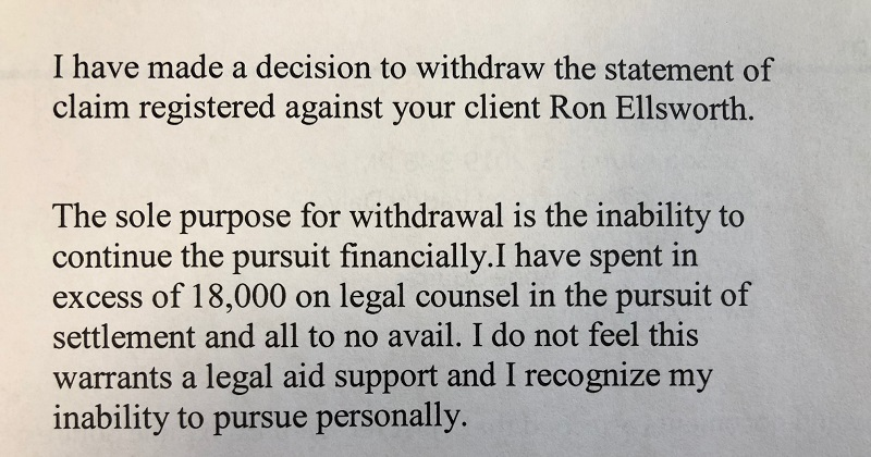 Former Owner Of Exit Realty On The Rock Withdraws Statement