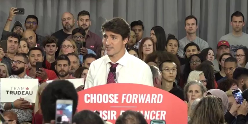 Trudeau, May to make campaign stops in Waterloo Region