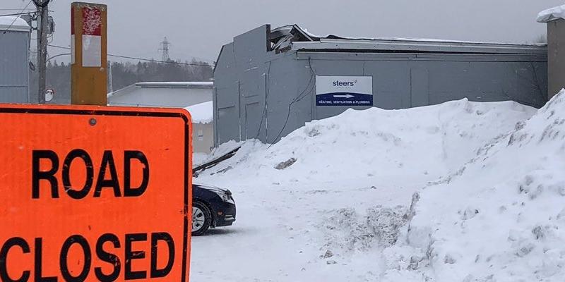 Warehouse Roof Collapses In Corner Brook Vocm