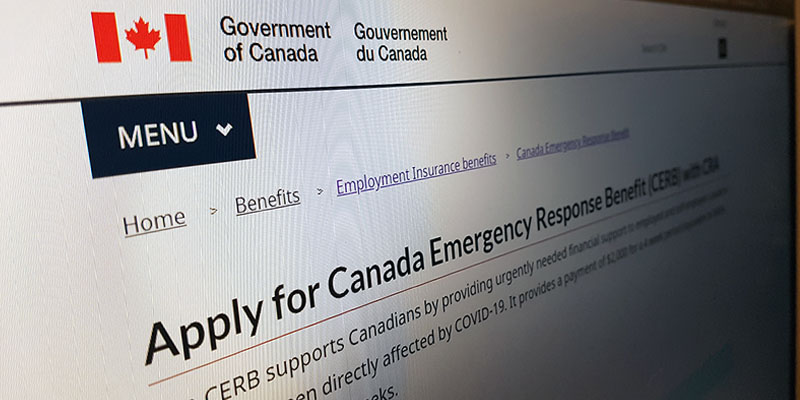 Applications for the Canadian Emergency Response Benefit open tomorrow