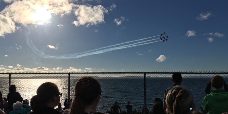 Snowbirds to lift spirits with flyby over capital Thursday