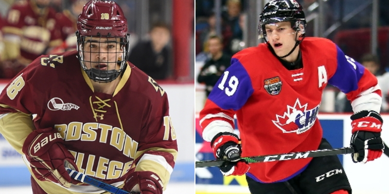 Nl S Dawson Mercer And Alex Newhook Heading To World Juniors With Team Canada Vocm