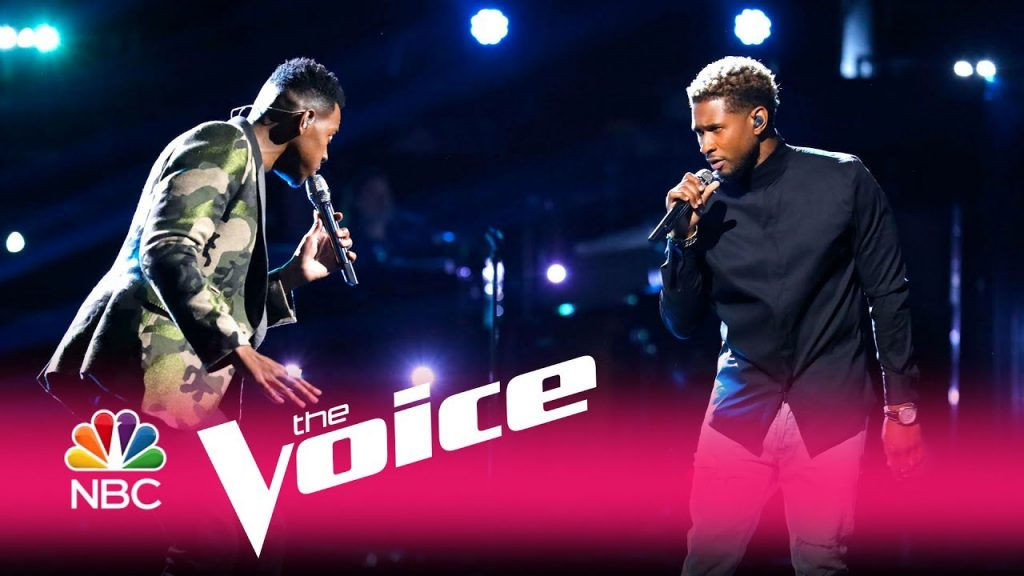 "Chris Blue & Usher team up for ""Everybody Hurts"" on The Voice!"